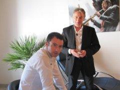 Tournage avec Nicolas Deuil